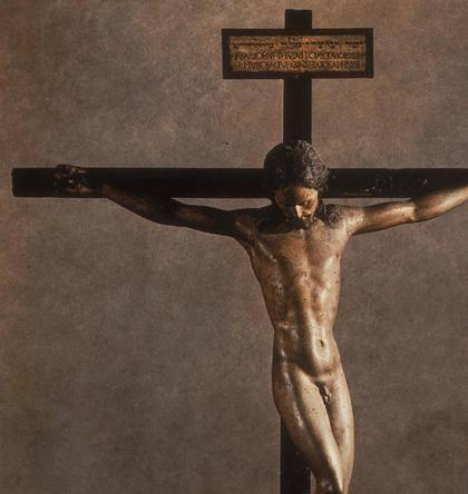 B1 - michelangelo wooden cross